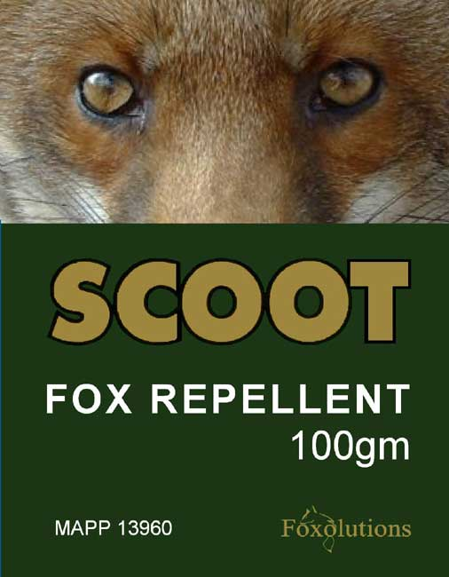 Scoot Fox Repellent